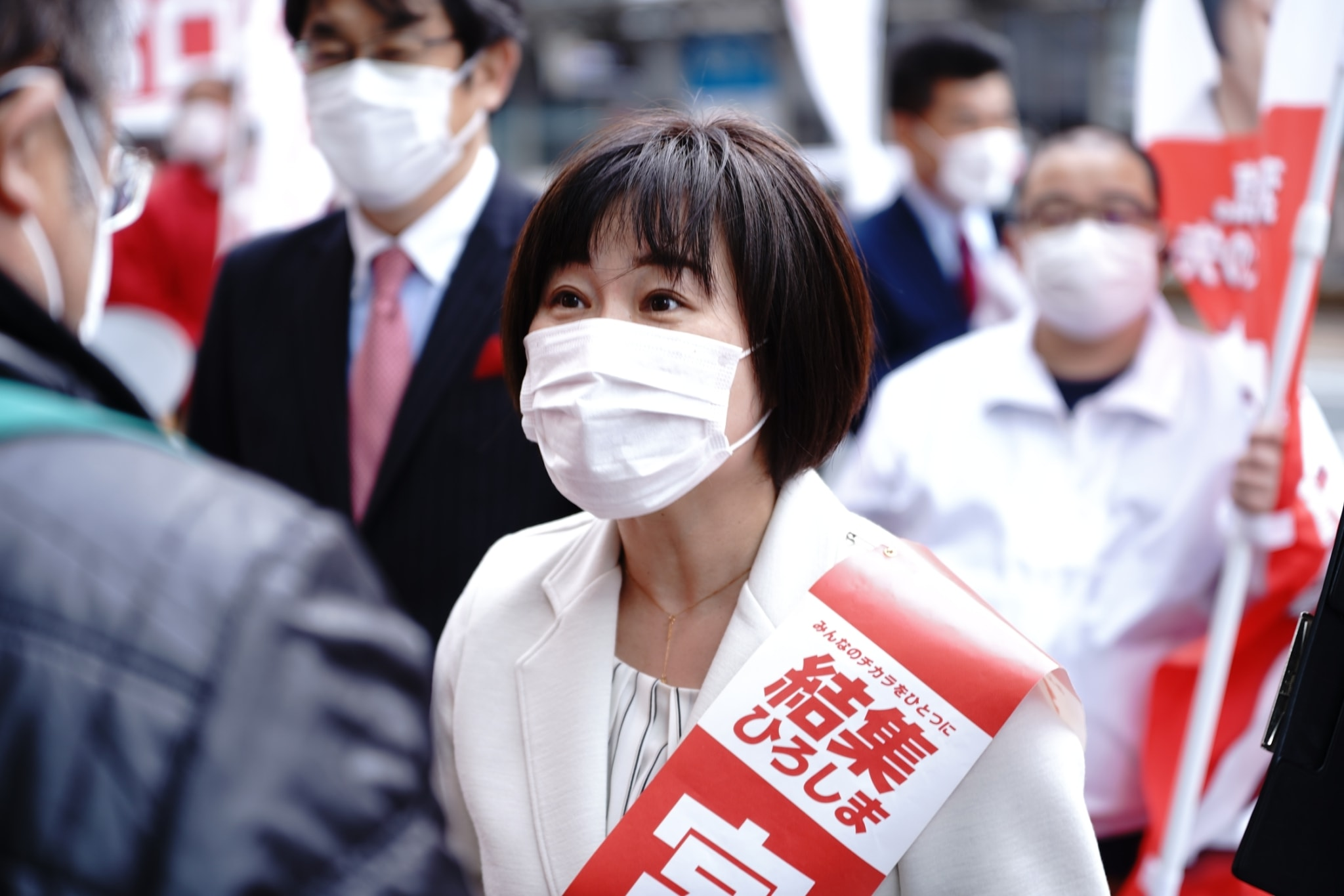 宮口はるこ 参院広島再選挙 候補